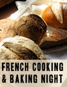French cooking and baking class